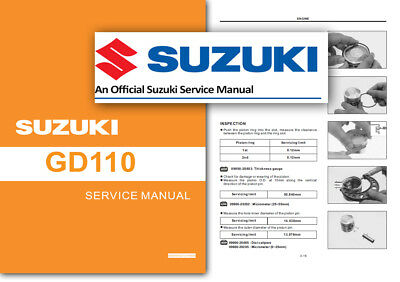 SUZUKI UF50 ESTILETE Scooter Workshop Service Shop Manual 2000