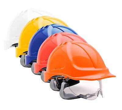 Portwest Endurance Visor Helmet Safety Hard Hat Cap Safety Work Wear PW55