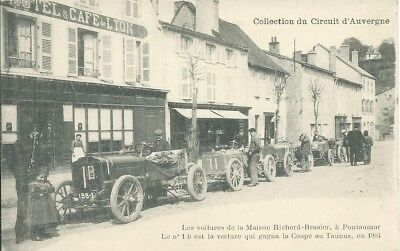 1905 Gordon Bennett Circuit Auvergne race - Les voitures de Richard-Brasier