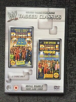 WWE Tagged Classics - Royal Rumble 1991 & 1992 DVD WWF Rare 91 92