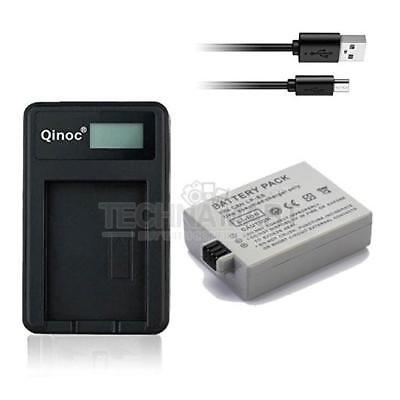 USB Charger + Single Battery LP-E5 for Canon EOS 450D EOS 500D EOS 1000D