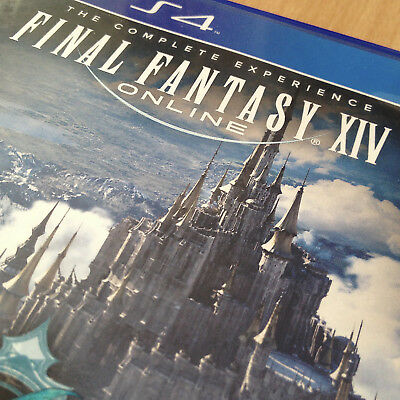 Final Fantasy XIV/FF14: Complete Experience (A Realm Reborn + Heavensward) PS4