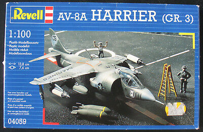 Revell 04059 - AV-8A HARRIER (GR. 3) - 1:100 - Flugzeug Modellbausatz -Model Kit