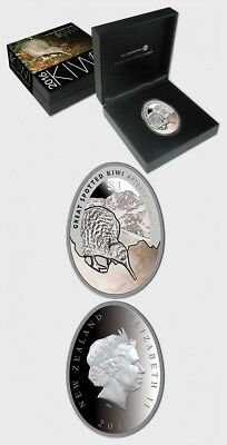 New Zealand- 2016 Kiwi Silver Proof Coin