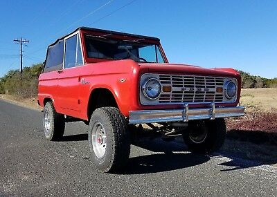 1967 Ford Bronco  Restored 1967 Ford Bronco Sport UPGRADED AMAZING UNCUT DRIVER