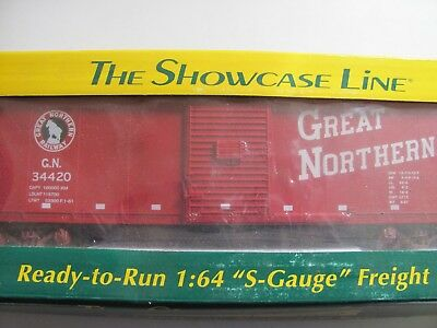 S-Helper Service Great Northern Steel Rebuilt Box Car #01129 #2 MIB