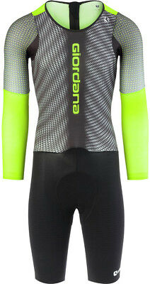 Giordana NX-G Long Sleeves Chronosuit Black/Green 2018