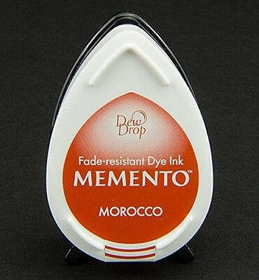 Stempelkissen Tinte Ink Memento DewDrop morocco dunkel-orange Mini MD201