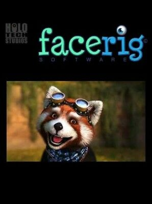 FaceRig Classic Live Animated Avatars - For PC Steam Activation -  Region Free