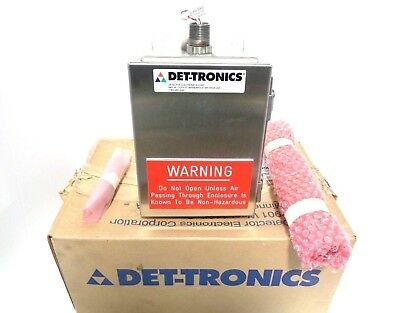 Det-Tronics Q811 Combustible Gas Detection Duct Mount Enclosure w/ Sensor