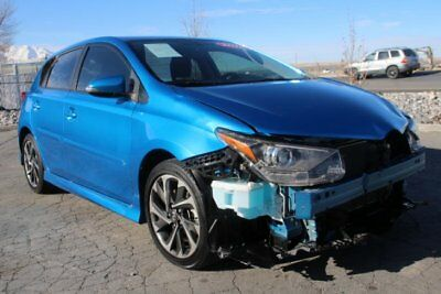 2016 Scion Other 6M 2016 Scion iM Salvage Wrecked Repairable! Priced To Sell! Wont Last! Must L@@k!!
