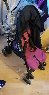 joie nitro stroller black and pink