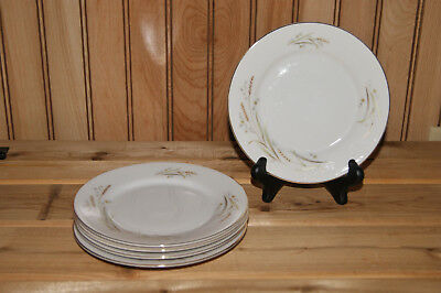 """Lot of 5 - Golden Harvest Fine China of Japan - Luncheon Plates - 7 1/2"""""""