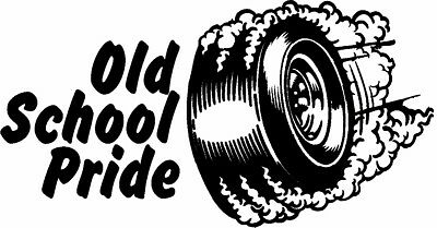 Old School Pride Rat Rod Hot Rods Muscle Car Vintage Performance