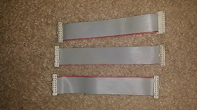 3 Nos williams 20 pin 6 inch ribbon cables.