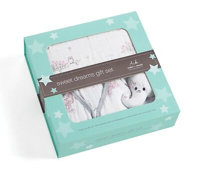 Aden and Anais Sweet Dreams Gift Set - For The Birds