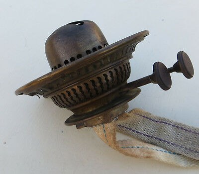 Vintage Brass Duplex Oil Lamp Burner for Spare or Repair - Best British Make