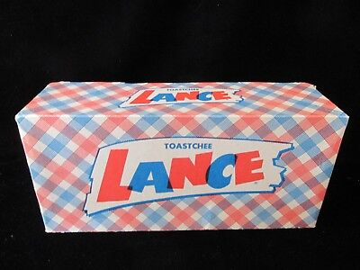 Vintage Advetising Toastche Lance Box Only