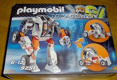 Playmobil TOP AGENTS Nr. 9251 Agent T.E.C.`s Roboter in OVP komplett TOP