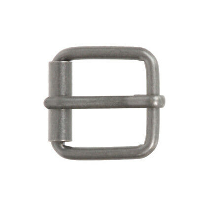 "1"" (25 mm) Nickel Free Single Prong Square Roller Belt Buckle"