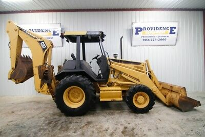 Caterpillar 416B 4Wd Backhoe Loader Ready To Work!