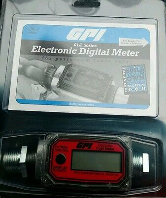New   GPI electronic digital fuel meter.01A31GM New in Packaging