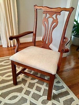 Knob Creek Set of Chippendale Style Dining Chairs