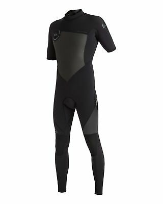 NEW QUIKSILVER™  Mens Syncro 2/2MM Short Sleeve Steamer Wetsuit 2017 Surf