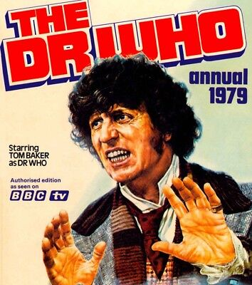 DOCTOR WHO - Annuals Collection on DVD - Books & Comics on DVD Rom