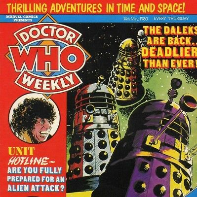DOCTOR WHO Weekly & Monthly Collection on DVD - Books & Comics on DVD Rom
