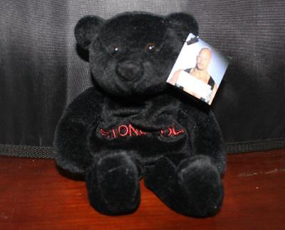 """1999 WWF/WWE """"STONE COLD"""" ATTITUDE BEAR"""" 7 - 8 in Wrestling Soft Toy as NEW cond"""