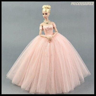 Barbie Doll Clothes Vogue Pink Evening Dress/Clothing/Outfit/Evening/Wedding/New