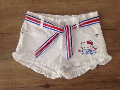 Girls Hello Kitty Shorts Size 2