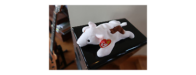 NWT Mint Ty Butch Bull Terrier Beanie Baby Babies Original Dog Rare Retired 1998