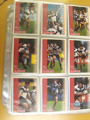 Authentics Rugby Superstars. 1995. New Zealand. Full set of 110 cards. FTPOST