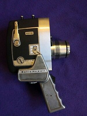Bell & Howell Director Series Zoomatic 8mm Camera Electric Eye with Grip