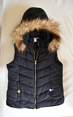Mango Girl's Hoodie Jacket Size 10 Excellent Condition Pre-Owned