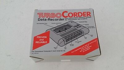 Turbo Corder Data Recorder for Commodore C64/ C64C/ Vic 20 BRAND NEW OLD STOCK