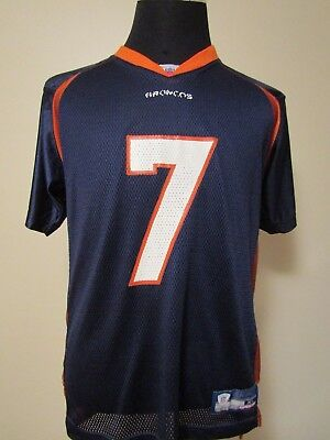 NFL Denver Broncos #7 YOUTH XL Printed HOME Football Jersey by Reebok