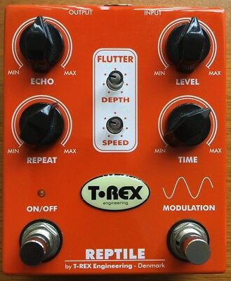 T-Rex Engineering Reptile modulated delay pedal