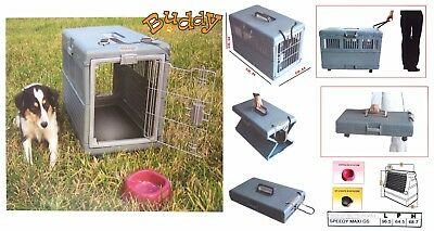 CAGE DE TRANSPORT pliant pour CHIEN transport GRAND XL 96 x 64 x 68(H) cm