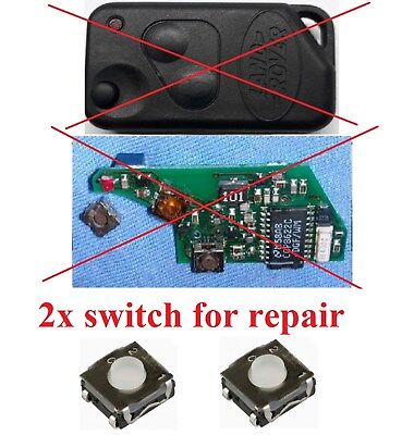 LAND RANGE ROVER Discovery P38 SWITCH BUTTON REPAIR REMOTE KEY FOB
