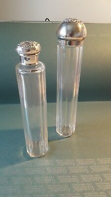 Silver Topped Dressing Table Bottles