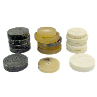 10 Spacers for Stickmaking Choose Buffalo or Cattle Horn, Cattle Bone or Mixed
