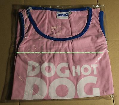 T-SHIRT DOG HOT DOG CAMPING 3 Taille S Patrick Chirac Neuf Sous Emballage