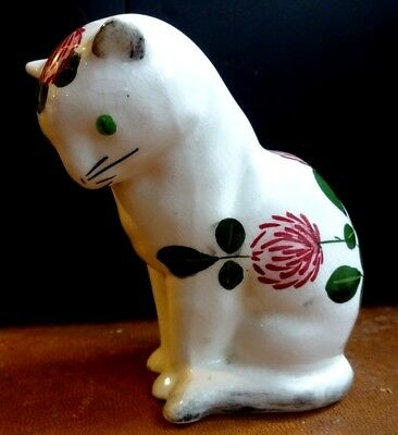Superb Plichta London Hand Painted Clover Cat