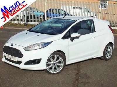 "2015 ""65"" Ford Fiesta Sport Van TDCi 95PS, 3-Door CDV Car-Derived Van, Air Con,"