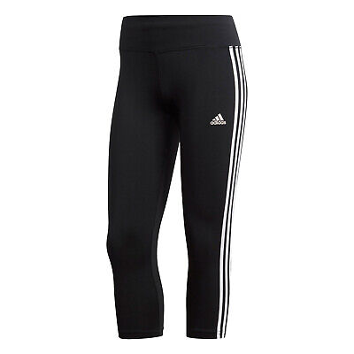 adidas Designed 2 Move Climalite 3-Stripe 3/4 Tight Sporttight Leggings schwarz