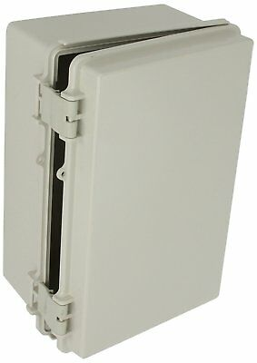 Bud Nema Plastic Box Solid Door Electrical Enclosure Waterproof 11.3X7.5X5.5 NEW