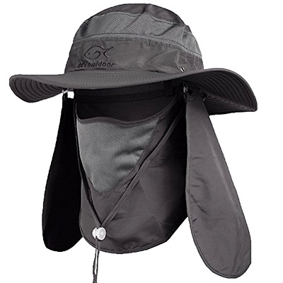 Fishing Cap Neck Face Flap Fashion Summer Outdoor Sun Protection hat Men  hunting 26b1dacaf4e8